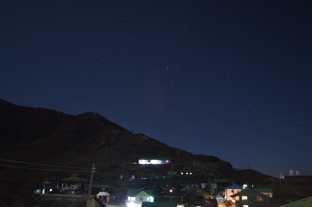 Night-sky at Gnanthang valley